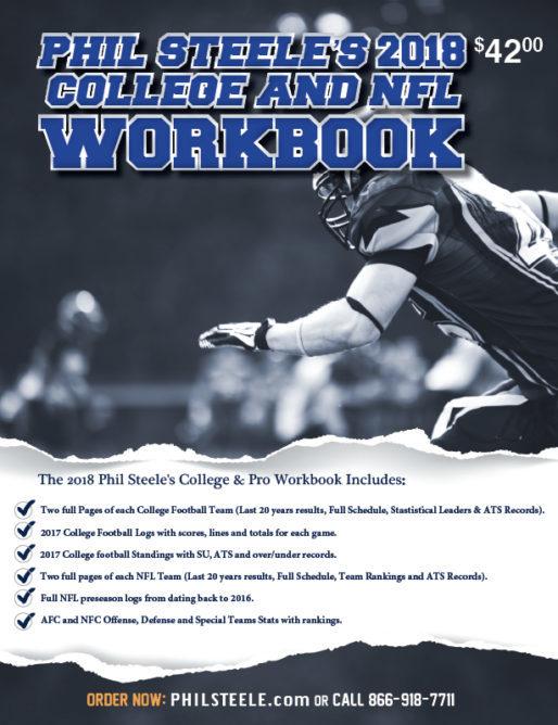 Phil Steele's 2019 College and NFL Workbook