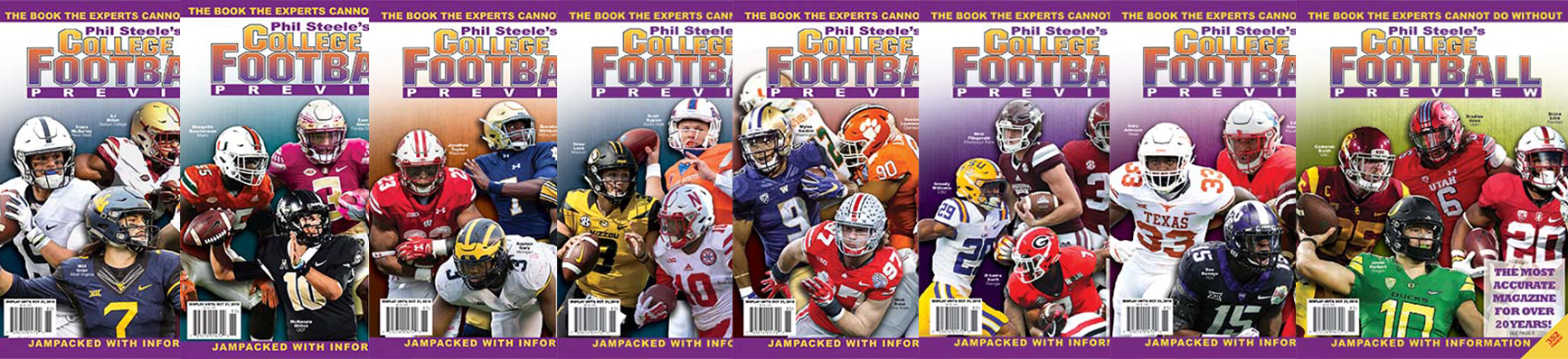 Pre Order your 2019 Phil Steele's College Football Preview